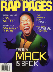 Rap Pages magazine, July 1997 featuring Hieroglyphics.