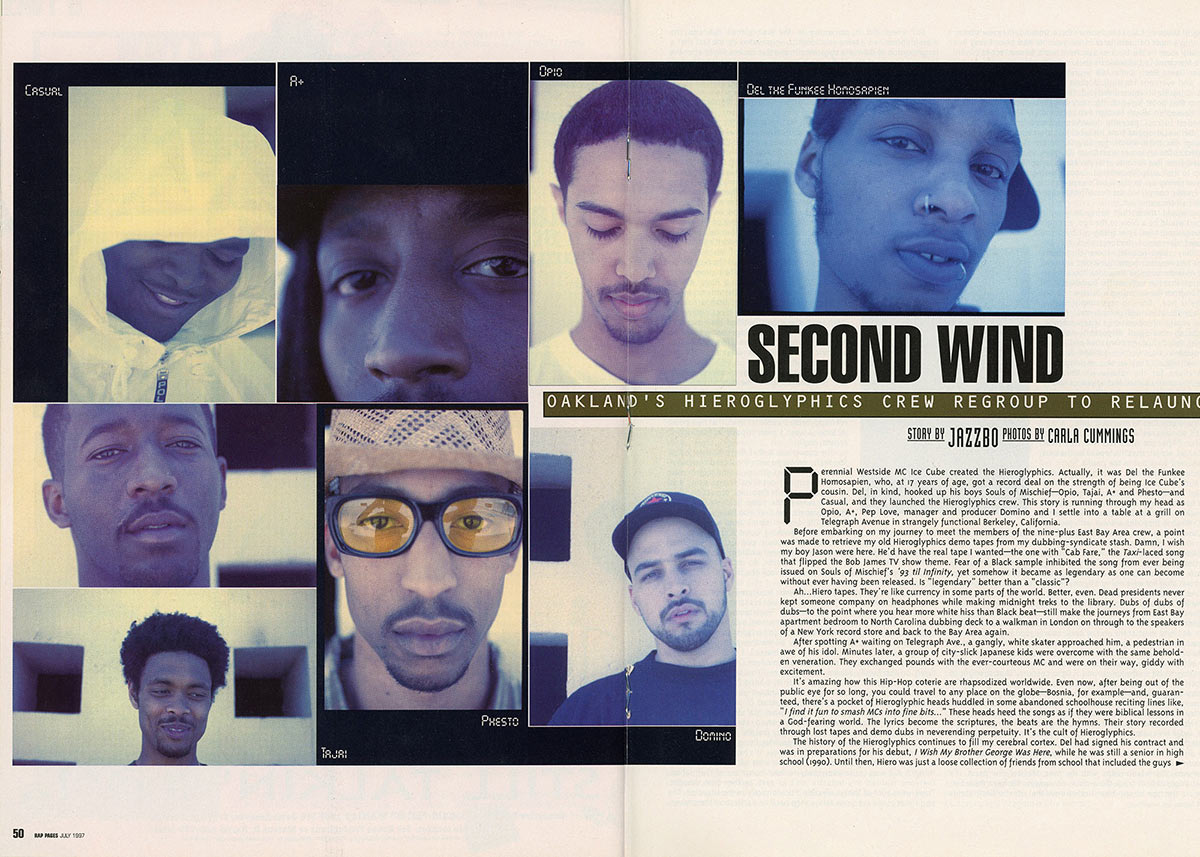 """Second Wind,"" Rap Pages magazine, July 1997"