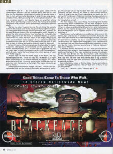 Page 92 of the July 1997 issue of Rap Pages magazine featuring Hieroglyphics.